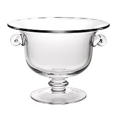 "Jack Badash Champion European 11"" Mouth-Blown Crystal Punch Bowl"