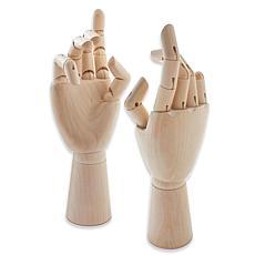 Jacke Richeson Wood Hand Manikins - Adult Male Right Hand