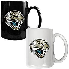 Jacksonville Jaguars 2pc Coffee Mug Set