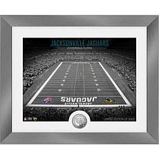 Jacksonville Jaguars Art Deco Stadium Silver Coin Photo Mint