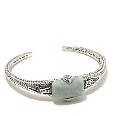 "Jade of Yesteryear ""Good Fortune"" Jade Cuff"