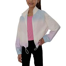 Jake and Anna Kids' Ombre Zip Windbreaker Jacket