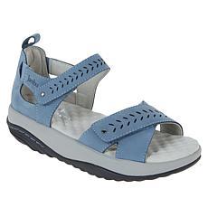 Jambu Sedona Nubuck Leather Sport Sandal