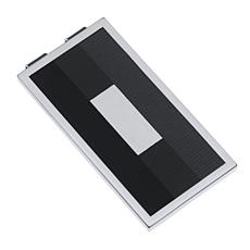 James Michael Men's Silver-Tone Shades of Grey Lacquer Money Clip