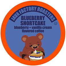 Java Factory Blueberry Shortcake Coffee Pods for Keurig, 40-Count