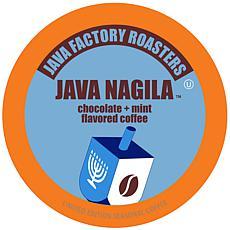 Java Factory Java Nagila K-Cup Pods - 40 Count