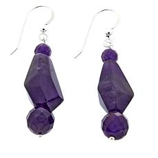 Jay King Amethyst Drop Sterling Silver Earrings