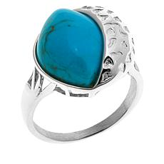 Jay King Angel Peak Turquoise Sterling Silver Ring