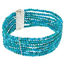 Jay King Azure Peaks Turquoise Beaded Multi-Row Bracelet
