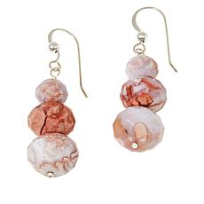 Jay King Brecciated Chalcedony Beaded Earrings