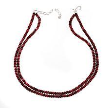 "Jay King Double Strand Beaded Gemstone 18"" Necklace"