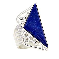 Jay King Freeform Lapis Sterling Silver Ring