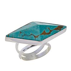 Jay King Freeform Tyrone Turquoise Sterling Silver Ring