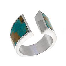Jay King Freeform Tyrone Turquoise Wraparound Ring