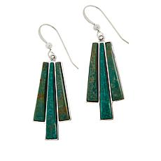Jay King Green Alicia Turquoise Drop Earrings