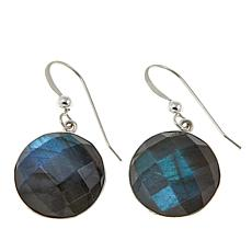 Jay King Labradorite Drop Sterling Silver Earrings