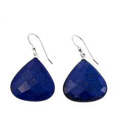 Jay King Lapis Sterling Silver Freeform Drop Earrings