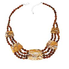"Jay King Mookaite and Jasper 18"" Necklace"