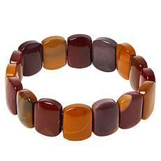Jay King Multi-Color Mookaite Stretch Bracelet