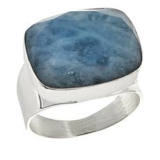 Jay King Multicolored Aquamarine Sterling Silver Ring