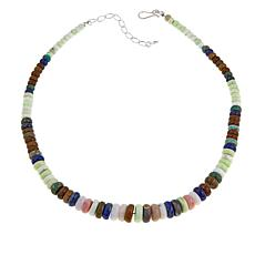 "Jay King Multigemstone Bead 20"" Necklace"