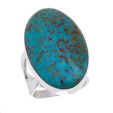 Jay King Oval Andean Blue Turquoise Ring