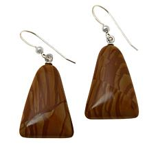 Jay King Picture Jasper Drop Earrings