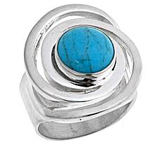 Jay King Red Skin Turquoise Sterling Silver Ring
