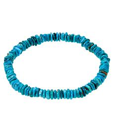 Jay King Royal Blue Turquoise Stretch Bracelet