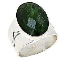 Jay King Sterling Silver Chrome Diopside Ring