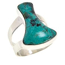 Jay King Sterling Silver Hubei Turquoise Freeform Ring