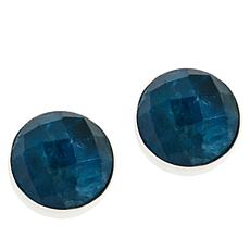 Jay King Sterling Silver Indigo Blue Apatite Earrings