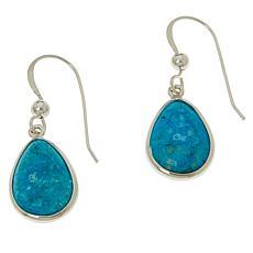 Jay King Sterling Silver Kingman Turquoise Pear Drop Earrings