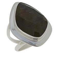 Jay King Sterling Silver Labradorite Freeform Ring