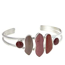 Jay King Sterling Silver Multi-Color Mookaite Cuff Bracelet