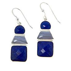 Jay King Sterling Silver Multi-Gemstone Drop Earrings