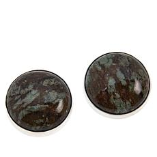 Jay King Sterling Silver Nunderite Stud  Earrings
