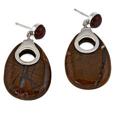 Jay King Sterling Silver Olivio Drop Earrings