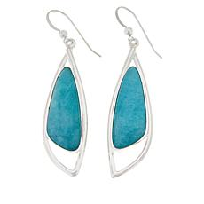 Jay King Sterling Silver Peruvian Amazonite Earrings