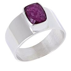 Jay King Sterling Silver Ruby Cushion-Cut Ring