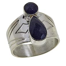 Jay King Sterling Silver Tanzanite Band Ring