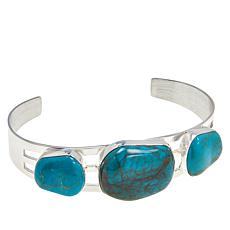 Jay King Sterling Silver Turquoise Hill Cuff