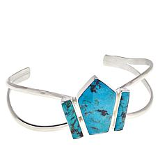 Jay King Sterling Silver Turquoise Hill Turquoise Cuff Bracelet