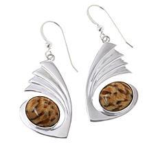 Jay King Sterling Silver Zebradorite Earrings