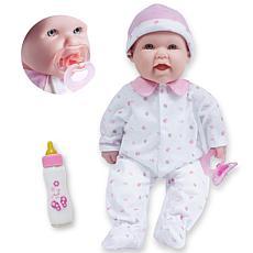 """JC Toys La Baby 16"""" Smiling Soft Body Baby Doll"""