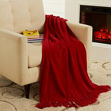 Jeffrey Banks Chenille Throw