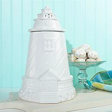 Jeffrey Banks Lighthouse Jar with Pecan Meltaways