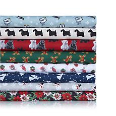 Jeffrey Banks Printed Microfiber 4-piece Sheet Set
