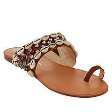 Jessica Simpson Abira Embellished Toe Loop Sandal