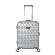 Jessica Simpson Dreamer 20-inch Hardside Luggage - Silver